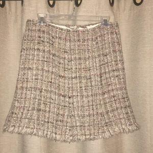 Nice, high end tweed skirt size 2